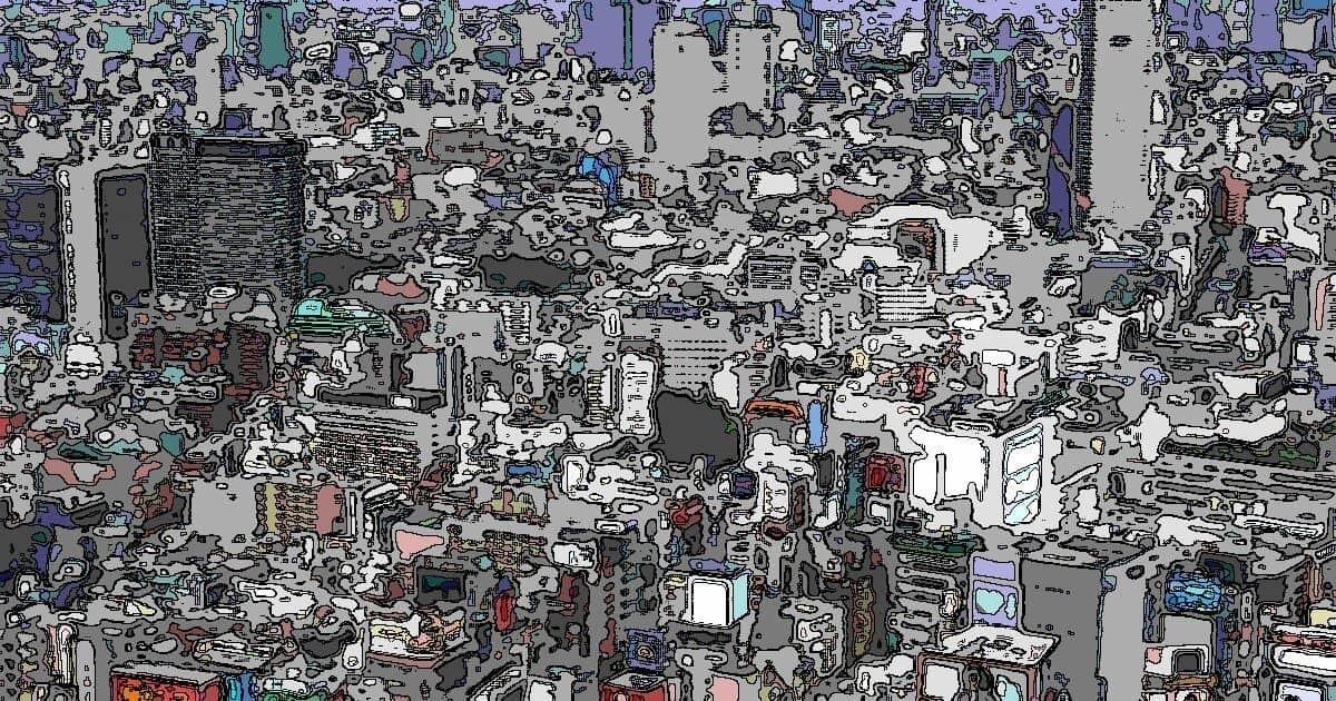 新宿新都心のビル街