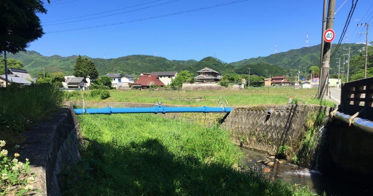 少年時代の田園風景