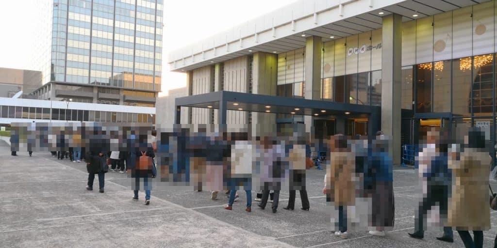クリス・ハートのラストライブ NHKホール入口