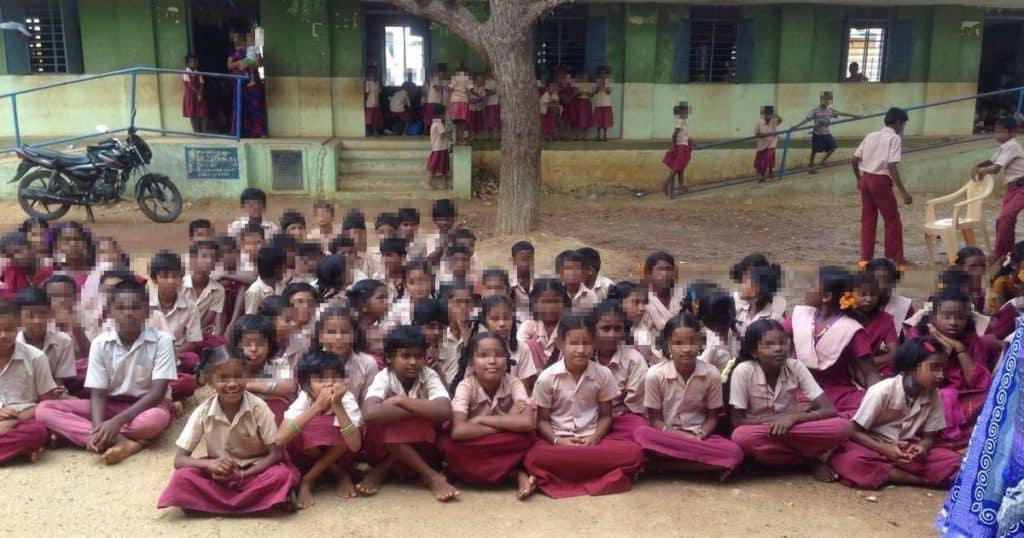 南インドの小学生