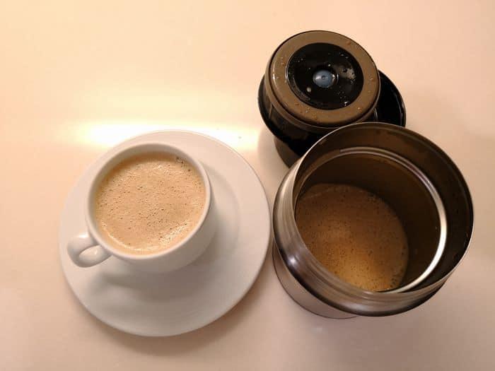 バターコーヒーを作る7