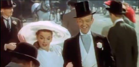 イースターパレードのフレッド・アステアとジュディー・ガーランド