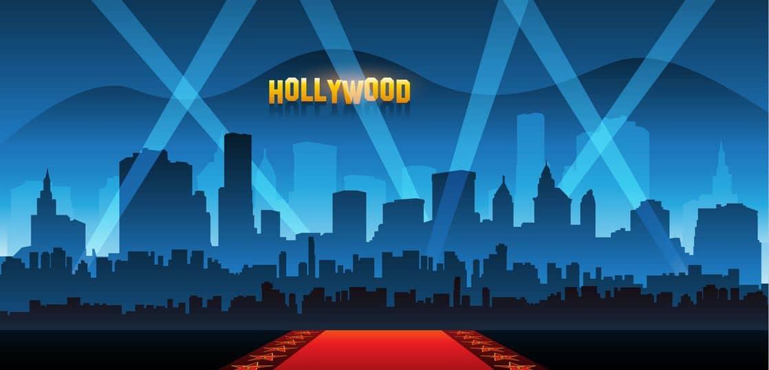 ハリウッドのイメージイラスト