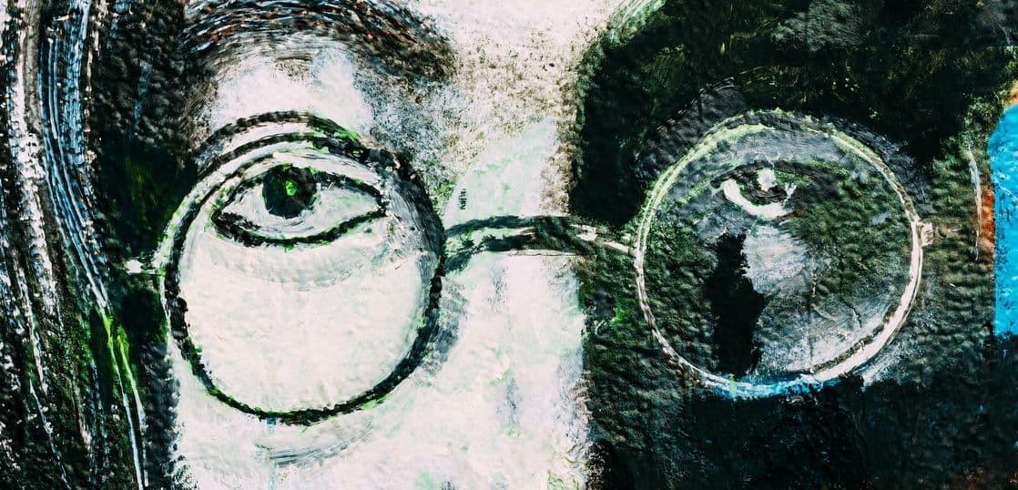 ジョン・レノンの壁画