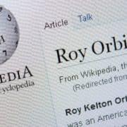 ロイ・オービソンのWikipedia表示