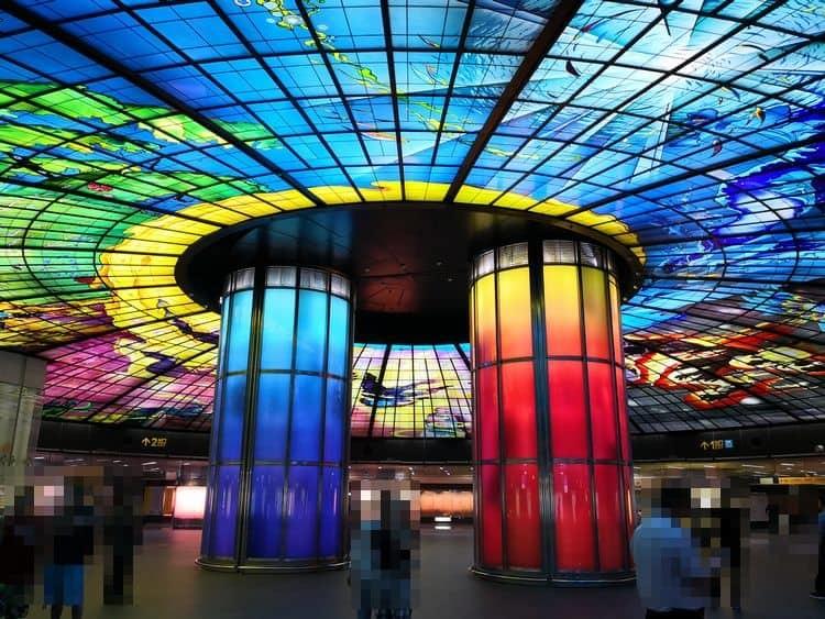 美麗島駅 Dome-of-Light_1