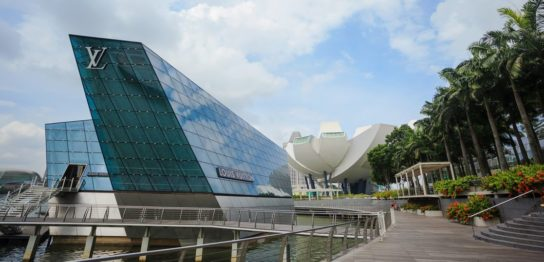 シンガポールのルイ・ヴィトン近未来住宅