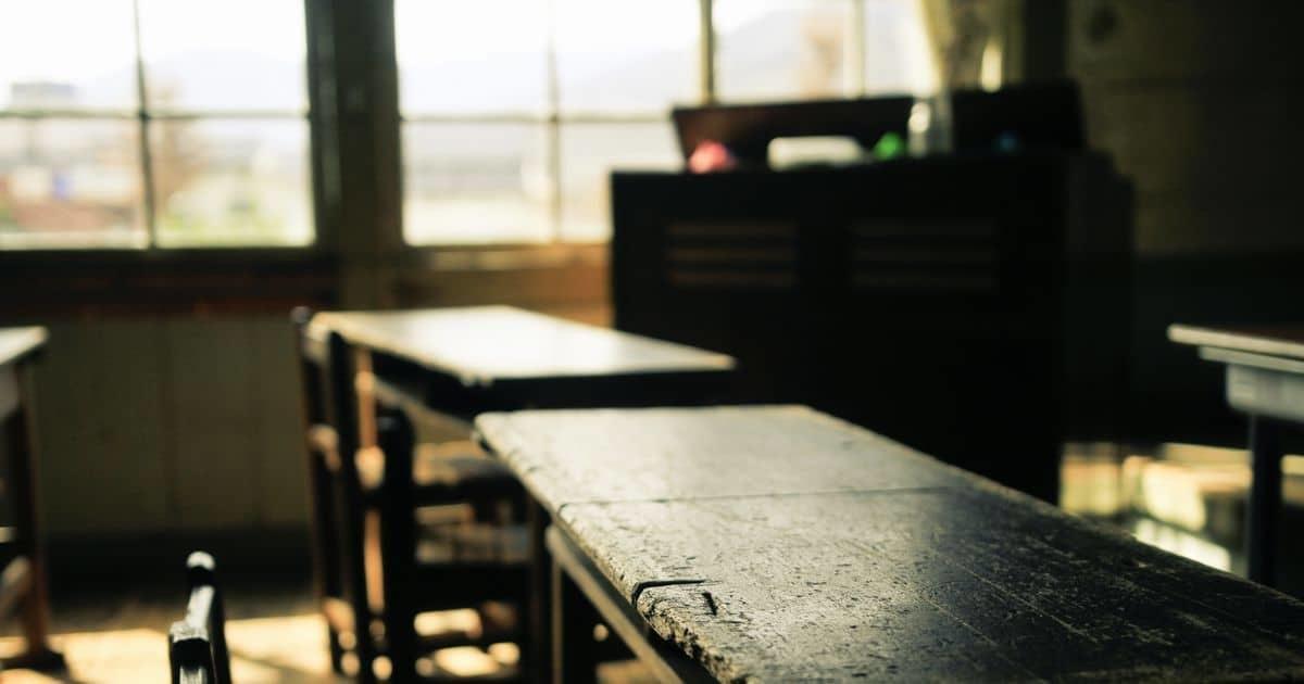 廃校の教室