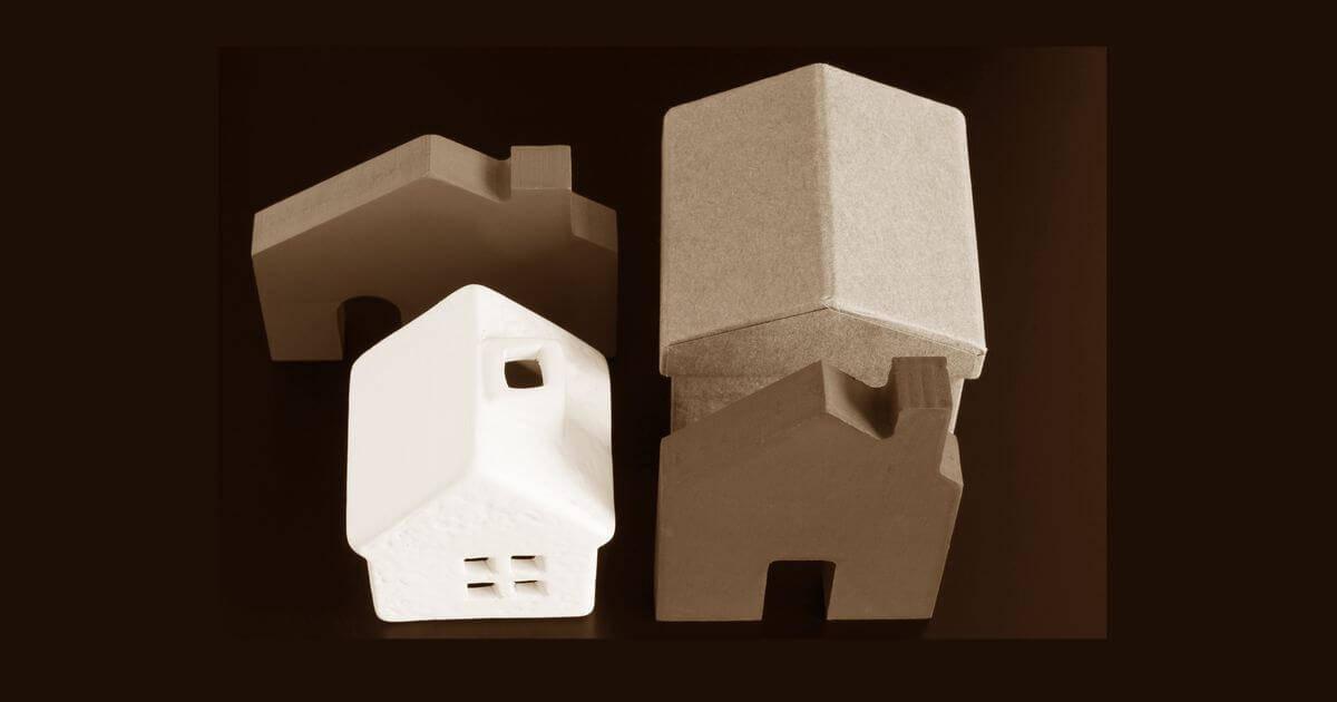 立ち並ぶ家