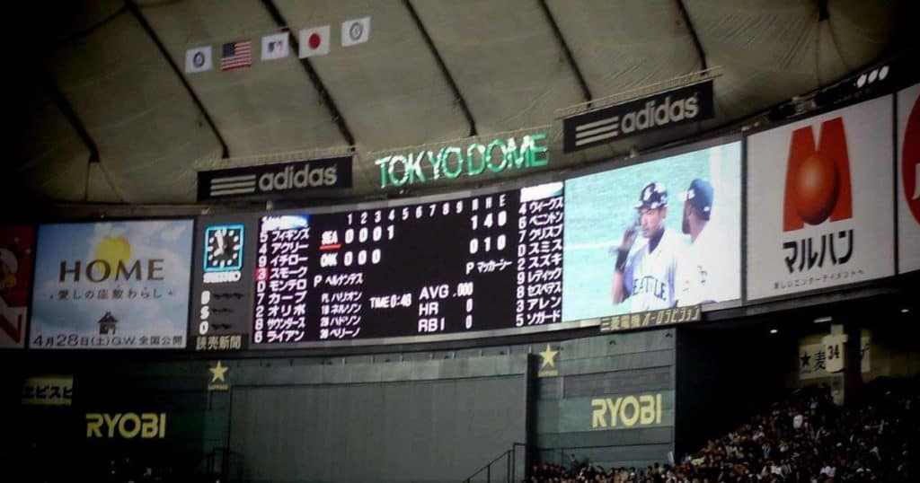 東京ドーム2012年イチローの試合