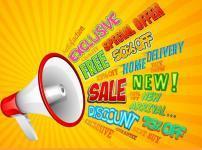 セールの告知イメージ
