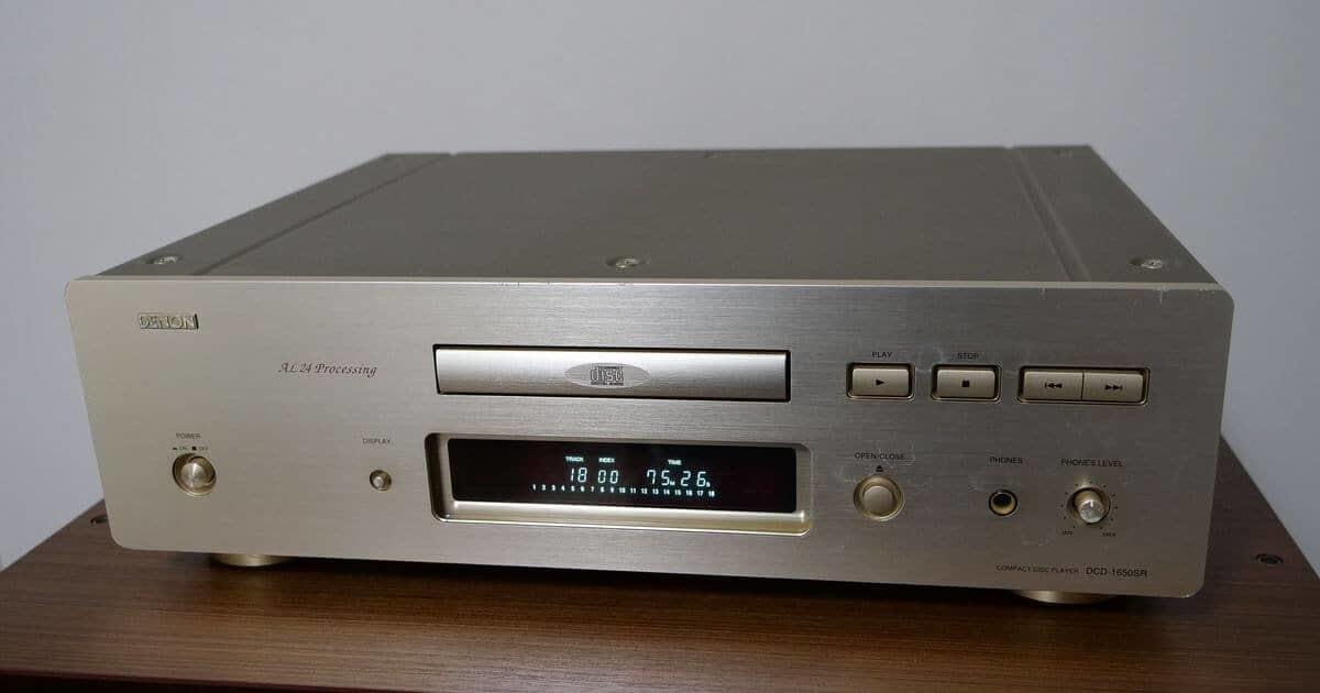 DENON CDプレーヤーDCD-1650SR