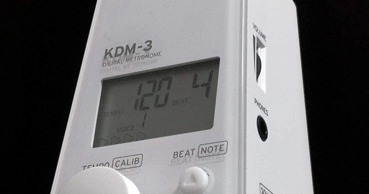 KORG 電子メトロノーム KDM-3