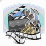 映画撮影の道具一式