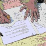 会社の記名押印